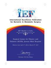 South Delhi Clinic - IEF Certificate (April 2014- March 2017)