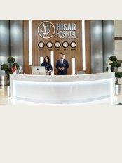 Hisar Intercontinental Hospital - Saray Mah. Site Yolu Cad. No:7, Ümraniye, Istanbul, 34768,