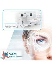 Laser Eye Surgeon Consultation - SAM Patient Services