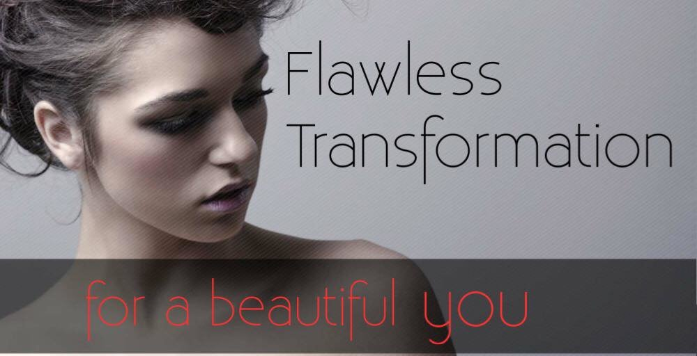 Flawless Transformation, L'Rose Beauty Salon
