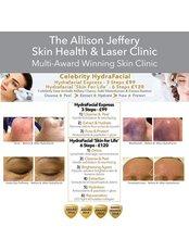 HydraFacial Express £99 | HydraFacial Skin For Life - £120 - Allison Jeffery Skin Health and Laser Clinic