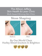 Dermal Fillers - Nose Shaping - Allison Jeffery Skin Health and Laser Clinic