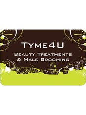 Tyme4u - Beauty Treatments & Male Grooming - logo