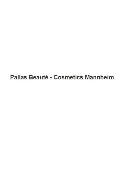 Pallas Beauté - Cosmetics Mannheim