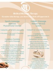 Medical Massage Therapy - poster