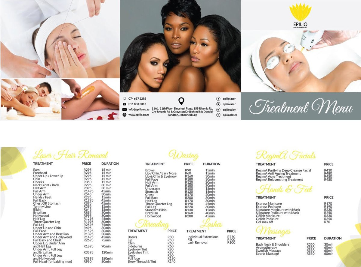 Epilio Laser Hair Removal in Sandton, South Africa • Read 1