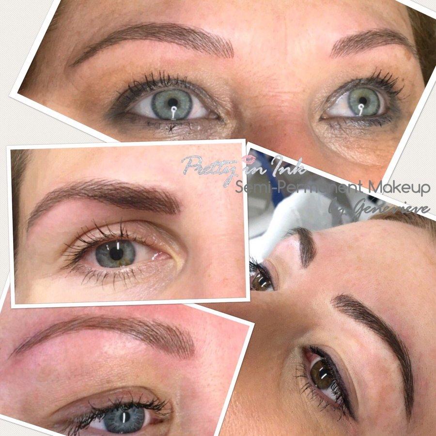 Semi Permanent Makeup Eyebrows Liverpool   Saubhaya Makeup