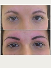 Abby Stacey - Advanced Skin Treatments - Semi permanent hair stroke eye brows
