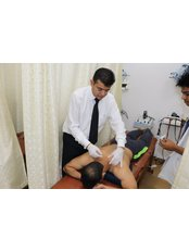 Dry Needling - Doctor at Ortho Neuro Chiropractic Physiotherapy Clinic