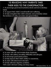 Child Chiropractic Adjustment - Homefarm Family Chiropractic