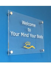 YMYB Health & Wellness Centre - Welcome sign for our Andover chiropractic centre