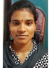 Mrs prameela siyyadri - Receptionist at Sarmista Cosmetic Surgery Centre-Visakhapatnam