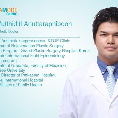 Доктор Wutthiditi Anuttaraphiboon