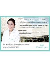 Доктор Apichaya Thanyavuthi - Дерматолог в Dermaster Thailand