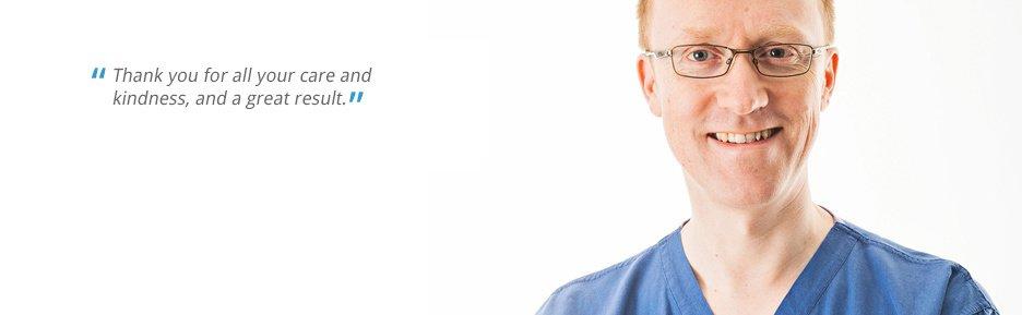 Dr. Greg Knepil The Nuffield Cheltenham Hospital