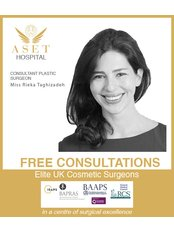 Miss Rieka Taghizadeh - Consultant at Aset Hospital Cosmetic Surgery