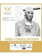 Mr Ahmed   El-Gawad - Consultant at Aset Hospital Cosmetic Surgery