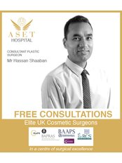 Mr Hassan Shaaban - Consultant at Aset Hospital Cosmetic Surgery