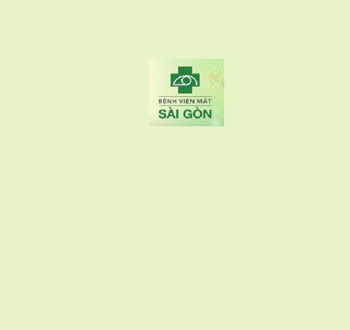 BV Mắt Sài Gòn - Hà Nội