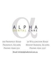 Mr Dr Paul Toumazos -  at Alpha Dental Care - Australia