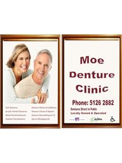 Moe Denture Clinic - Friendly Service, Quality Dentures at a Competative Price