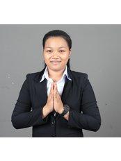 Ms Ngorn Seangli - Receptionist at Pka Chhouk Dental Clinic