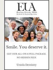 Urzola Dentistry - Avenida Escazu, Lexus Tower, 3rd Floor, Building 1, Rm 204, San Jose,