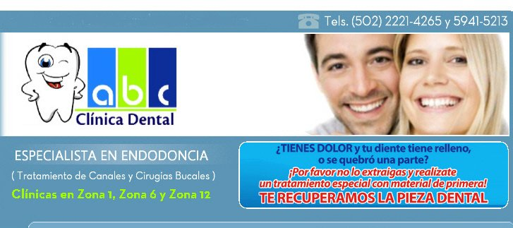 ABC Clinicadental -9-76 zona 1 Branch