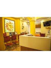 Duna Dental Dentistry - The waiting room where our Patients can read drink or watch TV.