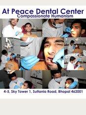 At Peace Dental Center - 4-5 Sky Tower 1, Sultania Road, Bhopal, Madhya Pradesh, 462 001,
