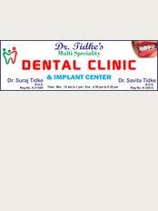 Dr. Tidke's Dental Clinic - Shop no.02, Krishna Height, Below Rangoli Hotel, DY patil College Road , Ravet, Pune, Maharashtra, 412101,