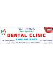Dr. Tidke's Dental Clinic - Shop no.02, Krishna Height, Below Rangoli Hotel, DY patil College Road , Ravet, Pune, Maharashtra, 412101,  0