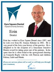 Eyre Square Dental Clinic - Dr. Eoin Fleetwood