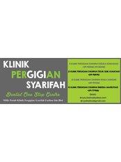 Klinik Pergigian Syarifah - Kemaman - K- 3110, Jalan Kuantan-Kemaman, Taman Geliga Sakti, Chukai, Terengganu, 24000,  0