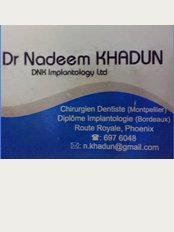 Dr Nadeem Khadun - DNK Implantology Company LTD