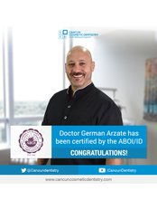 Dr German Arzate - Principal Dentist at Cancun Cosmetic Dentistry