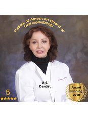 Dr Amy Khajavi - Principal Dentist at Center for Ceramic Dental Implants-USA