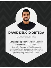 Dr David Del Cid - Dentist at Alberta Dental