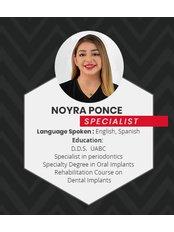 Dr Noyra Ponce - Dentist at Alberta Dental