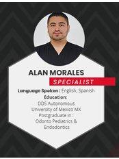 Dr Alan Morales - Dentist at Alberta Dental