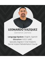 Dr Leonardo  Vazquez - Dentist at Alberta Dental