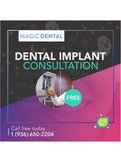 Implant Dentist Consultation - Magic Dental Clinic