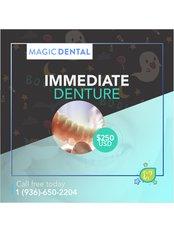 Immediate Dentures - Magic Dental Clinic