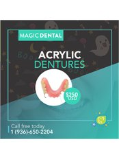 Acrylic Dentures - Magic Dental Clinic