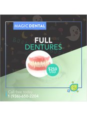 Dentures - Magic Dental Clinic