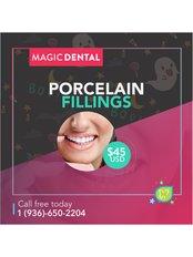 Porcelain Filling - Magic Dental Clinic