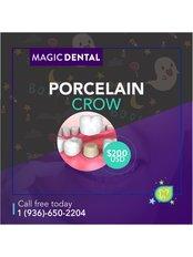 Dental Crowns - Magic Dental Clinic
