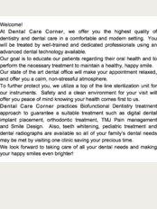 Dental Care Corner - 2/F Unit A GKC Bldg. #56 Visayas Avenue, Brgy. Vasra, Quezon, 1106,