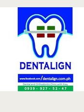 Dentalign Dental and Orthodontic Clinic - 178 Unit AC Ground Floor Amina Bldg., Tandang Sora, Quezon City. Inside Lusung Optical, Quezon City,