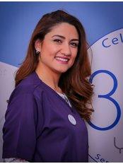 Dr. Farah Almasri - Orthodontist at Kharsa Ortho-Dent Center